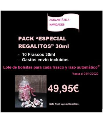 PACK ESPECIAL REGALITOS 30ML